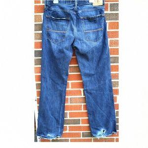 Abercrombie & Fitch Men's blue jeans size 34x34